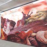 Ausstellungsansicht in der Galerie Stephanie Kelly Dresden, mit Marten Schech, Susan Donath und Lena Kemmler,, kuratiert von Kerstin Flasche